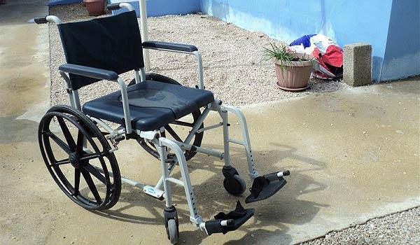 Gratis Po rolstoel