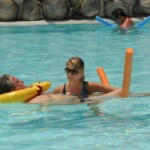 Tenerife revalideren in het water